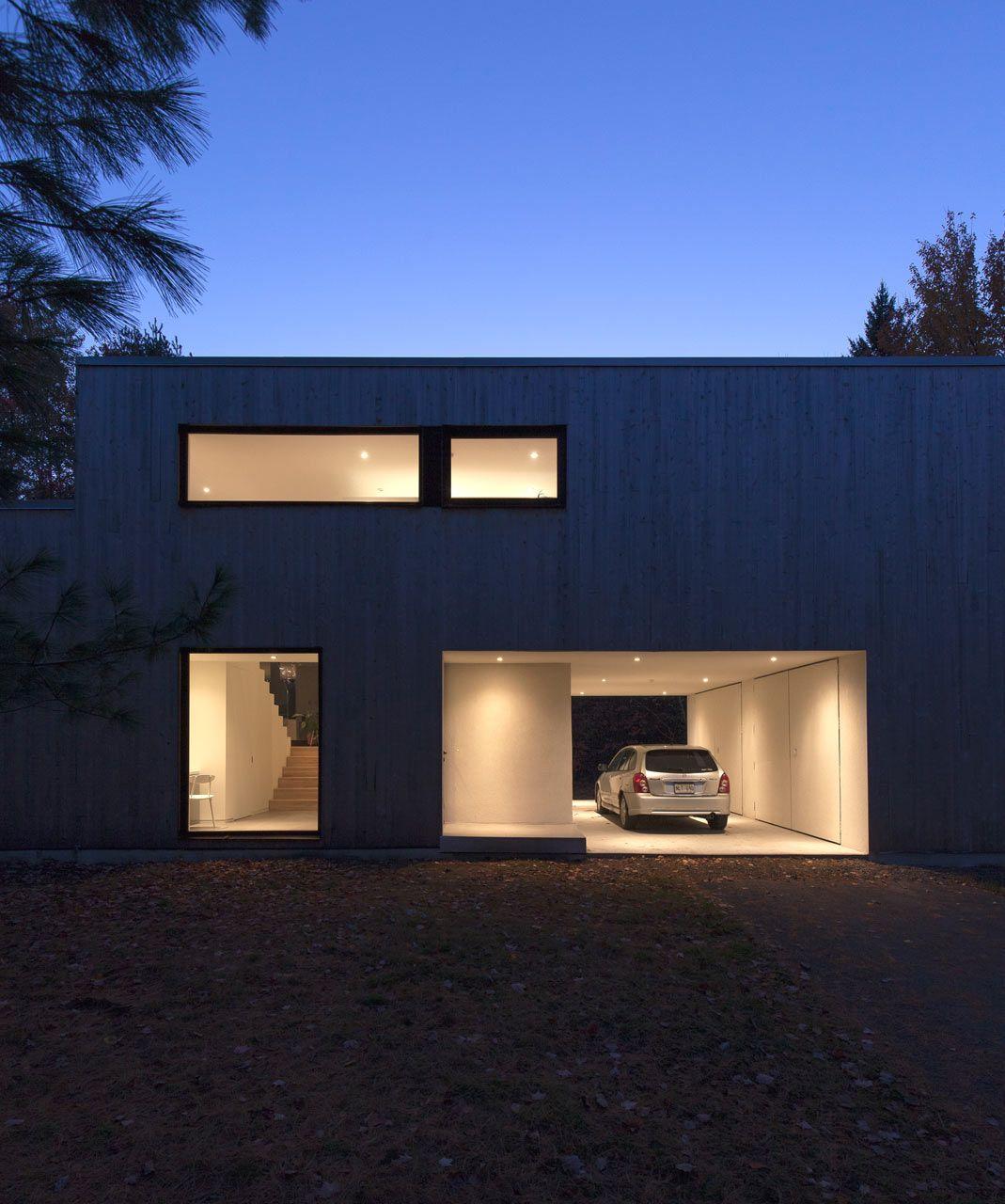 interior design of bungalow houses%0A A   s  Split Level Bungalow Goes Modern  Maison Terrebonne designed by La  SHED architecture