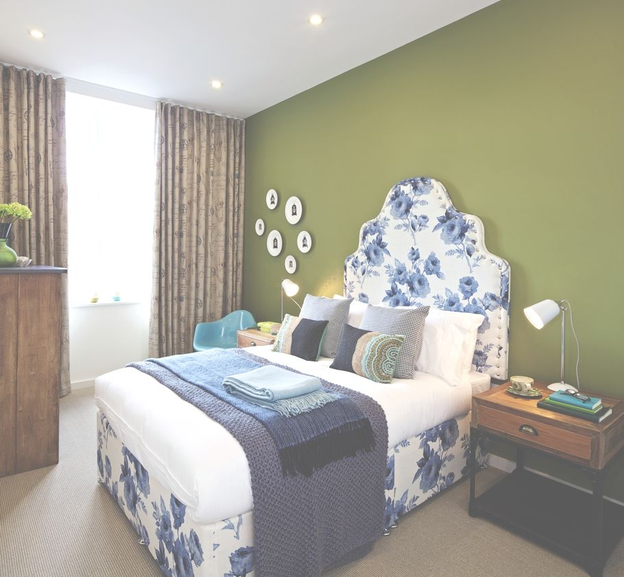 An example of a bedroom in a