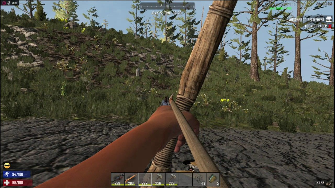 7 Days To Die Alpha 15 Sp Starvation Mod Lets Play Gameplay Day 5