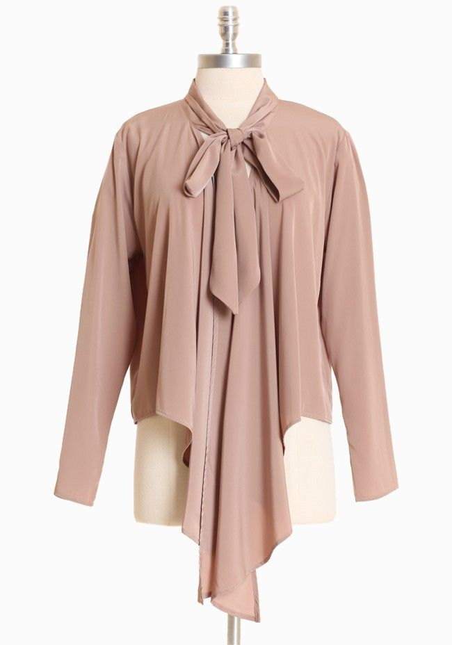 ad716993ad20c0 Montague Asymmetrical Cardi 34.99 at shopruche.com. A sweet blouse-like  cardigan is