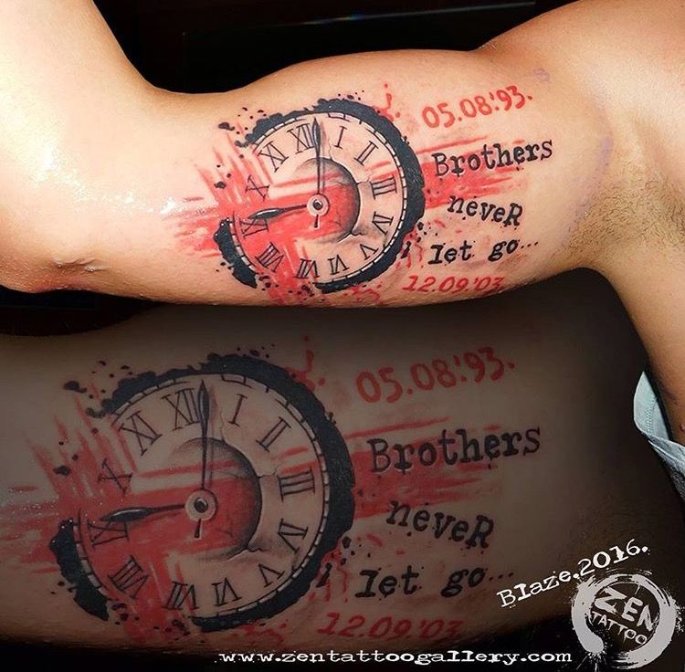 100 Brother Sister Tattoo Ideas: Brother Tattoo …