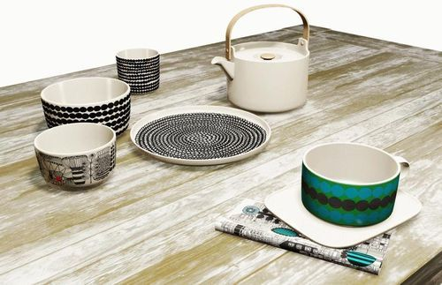 I like the mix-and-match style and endless possibilities of the Oiva tableware & I like the mix-and-match style and endless possibilities of the Oiva ...