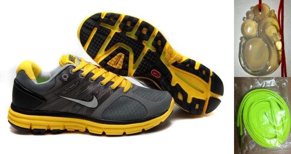 2edbc51fd2 Chalcedony Dragon Volt Lace Mens Nike Lunarglide 2 Gray Yellow Shoes ...