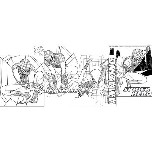 The Amazing SpiderMan Color Your Own Posters 4 Party