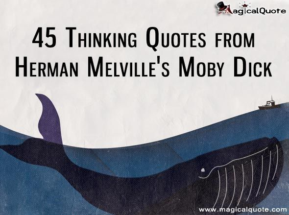 Famous quote from moby dick