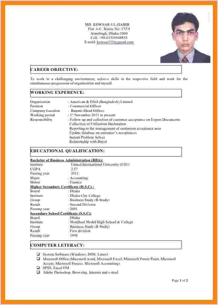 Latest Cv Format Bd Cv Format Resume Format Resume Format Download