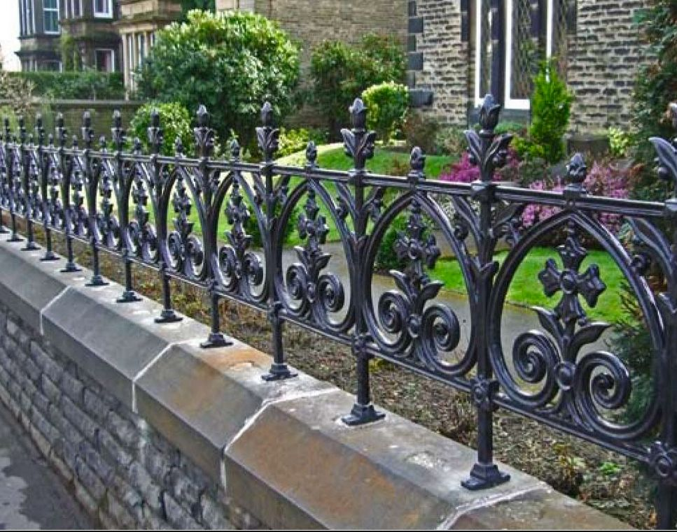 Victorian Terrace Railings With Images Victorian Front Garden