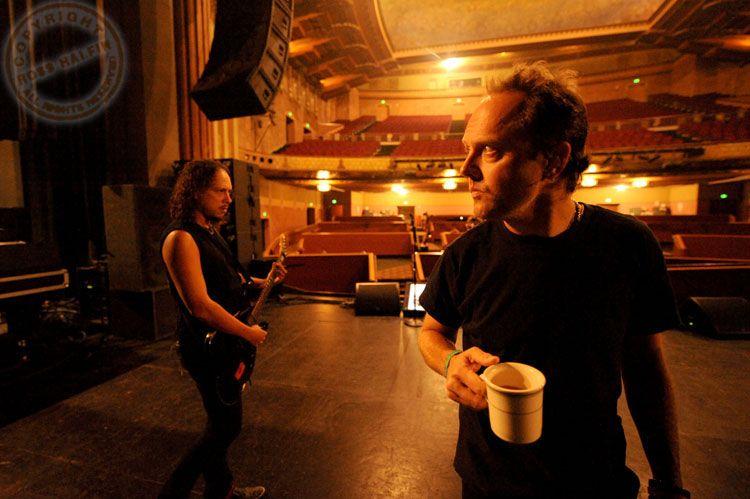 Wiltern Theatre, Los Angeles, May 2008 - Ross Halfin
