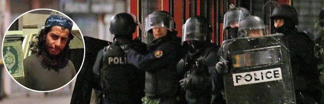 Tra le righe...: Parigi, assalto al covo dei terroristi: agenti feriti, tre arresti, ci sono 3 morti