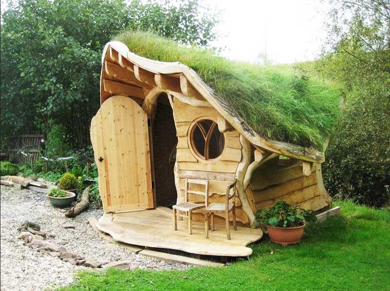 Garten Spielhaus Holz Mit Einzigartige Form Und Liebenswert Zu Abenteuer Erleben Die Erfreulich Ki Garten Spielhaus Holz Kinder Holzhaus Kinderspielhaus Garten