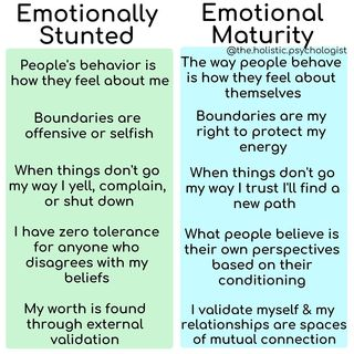 """Dr. Nicole LePera on Instagram: """"Emotional immaturity is the result of not being modeled emotional resilience: the ability to process emotions, communicate boundaries, +…"""""""