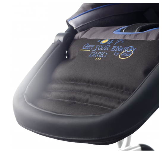 Jané Trider Extreme Stroller Review confortable seat for
