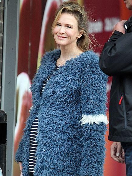 Renée Zellweger Is Ready to Pop as Bridget Jones in New Bridget Jones's Baby Photos