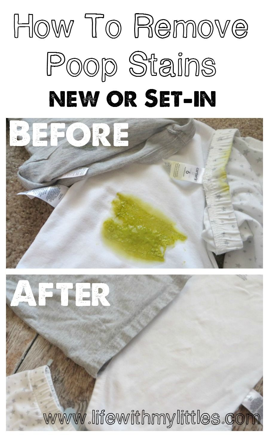 How to Easily Remove Poopout Stains #setinstains