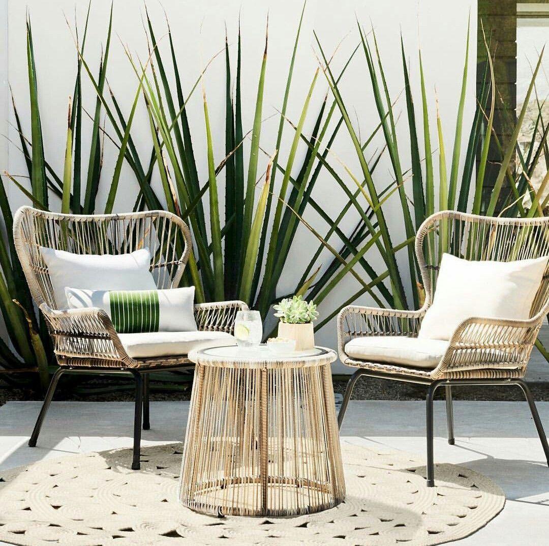 Mobilier Plante Tapis Avec Images Decor De Patio Deco Maison Decoration Maison