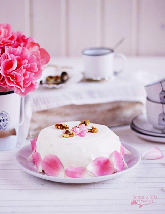 Tarta De Zanahoria C Cocina | Carrot Cake Con Nueces Y Cobertura Queso Sweets And Gifts Tarta