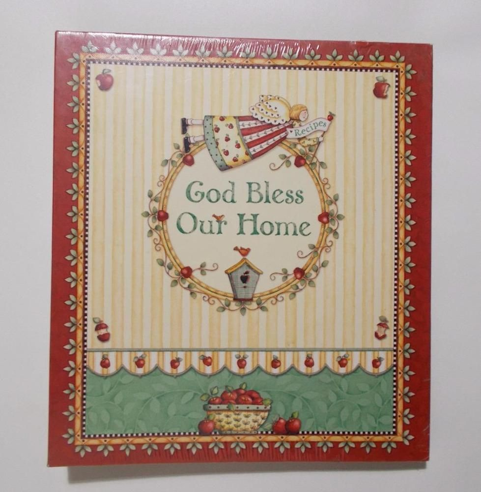 New Seasons Recipe Keeper God Bless Our Home Organizer