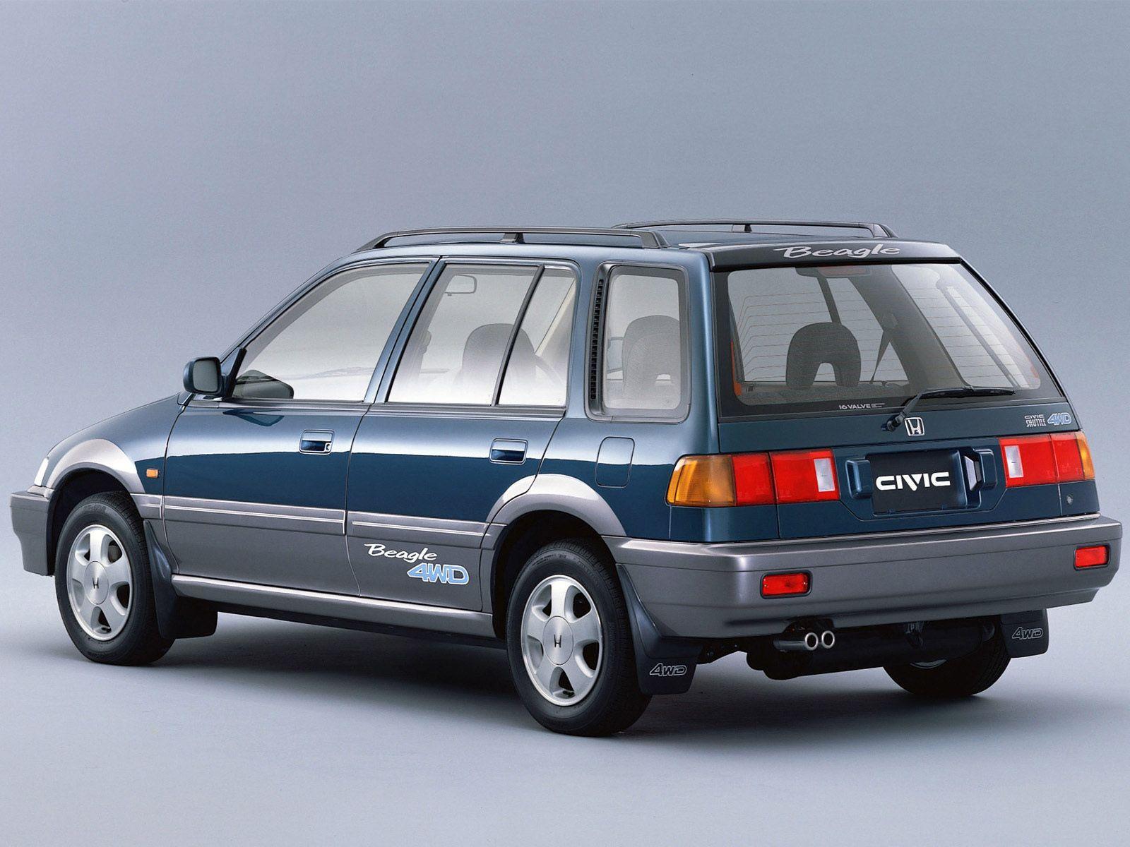 1994 honda civic shuttle beagle 4wd cars pinterest honda rh pinterest com