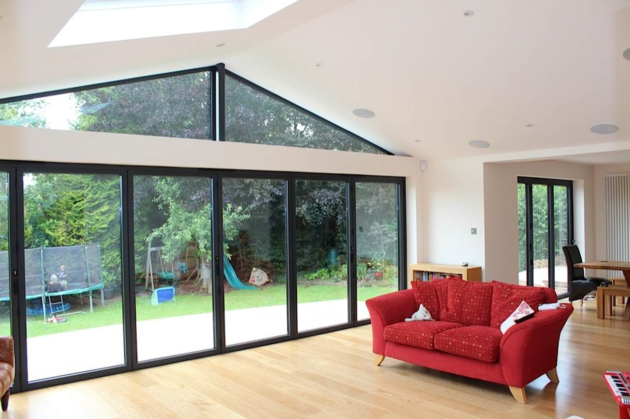 House Extension With Garden View  House extension design