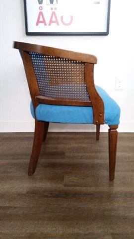 Upcycled Vintage Cane Back Side Chair Chairs Recliners Kitchener Waterloo Kijiji Side Chairs Chair Upcycled Vintage