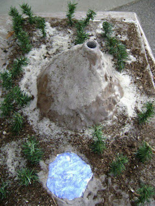 How to Build Your Own Erupting Volcano   Everything, How to build ...