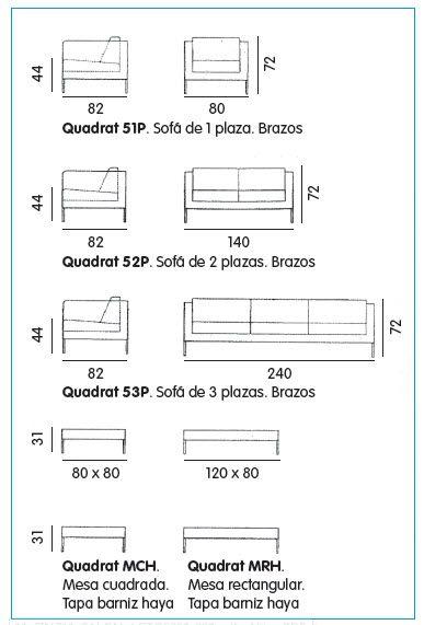 Medidas de mesas buscar con google dise os pinterest for Medidas de una oficina arquitectura