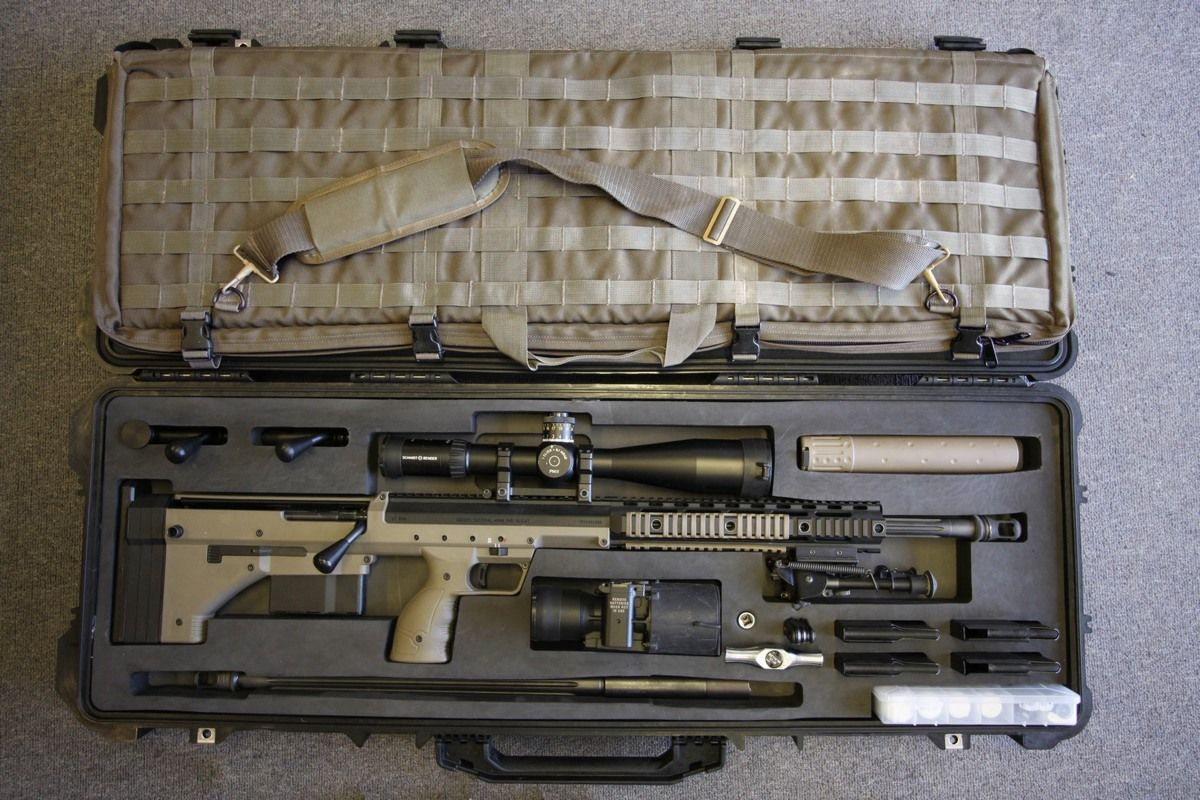 Gun review desert tactical arms stealth recon scout dta srs rifle - Desert Tech Srs Deployment Kit Now This Is A Site For Sore Eyes