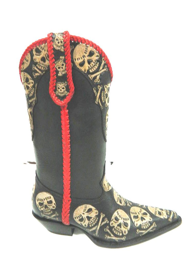 17 inches tall Hand tooled cowboy boot made to order | Boots ...