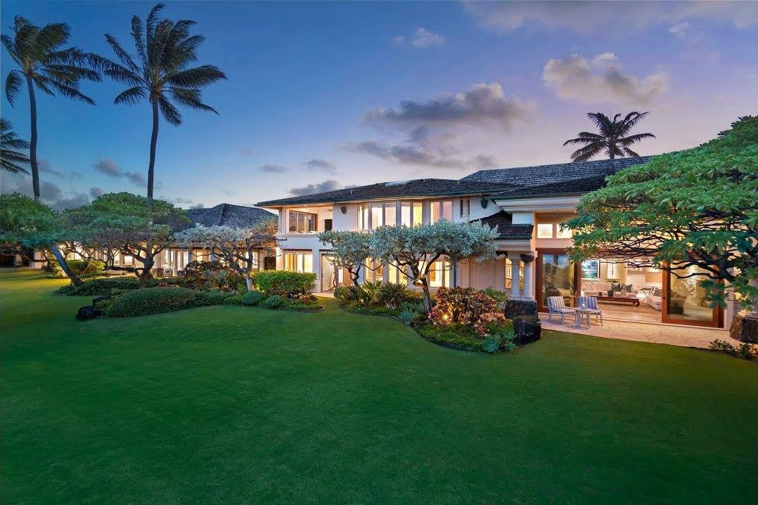 hawai i stunning oceanfront estate unparalleled in grandeur in rh pinterest com