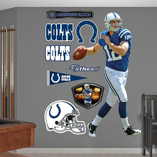 Colts Football Indianapolis Mascot Sport Decal 5 X 5