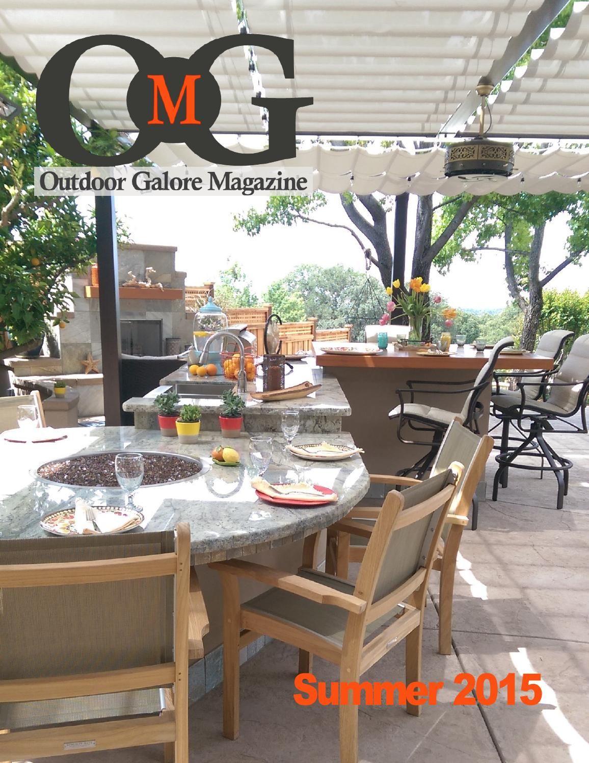 Outdoor Galore Magazine Summer Issue 2015 Patio Yard