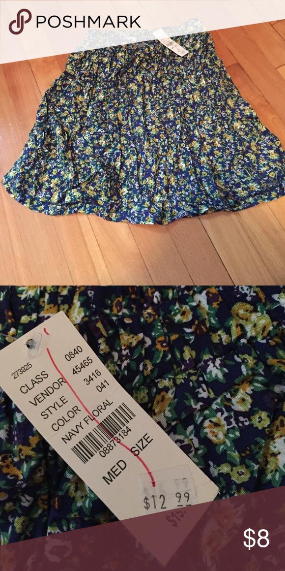 Skirt Stretchy Waistband, flowy, floral print skirt Kirra Skirts Mini