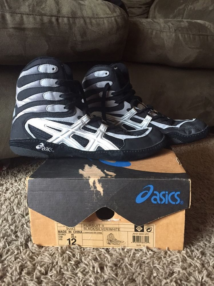 Asics p2 wrestling shoes asics pursuit 2 excellent condition size ...