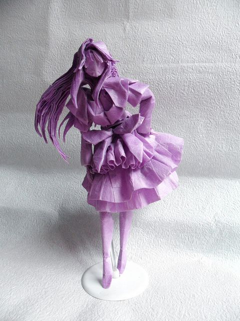 housemaid by obelisk origami origami art and origami paper