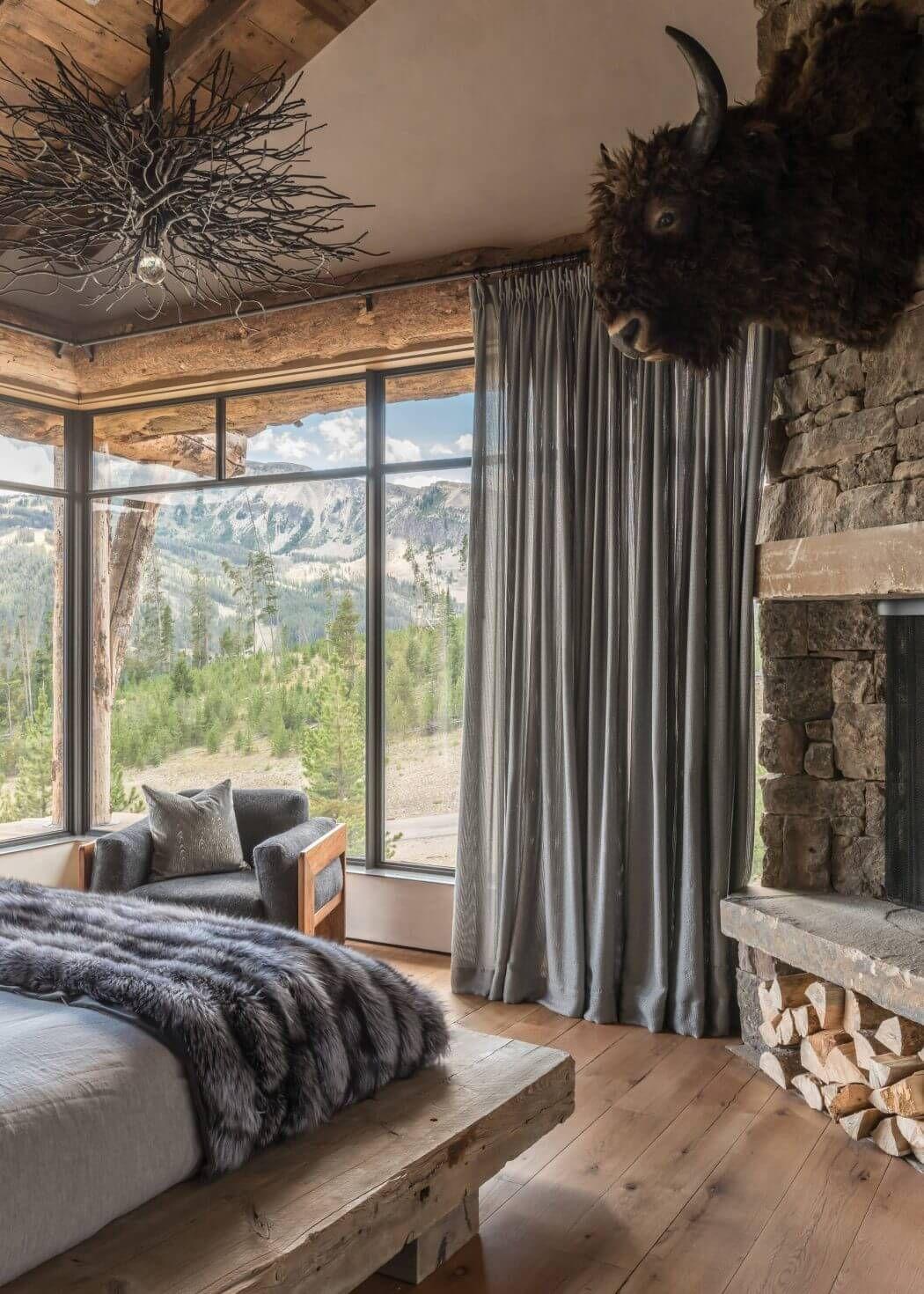 Pin von Stephanie Masko auf A room in the mountains | Pinterest ...