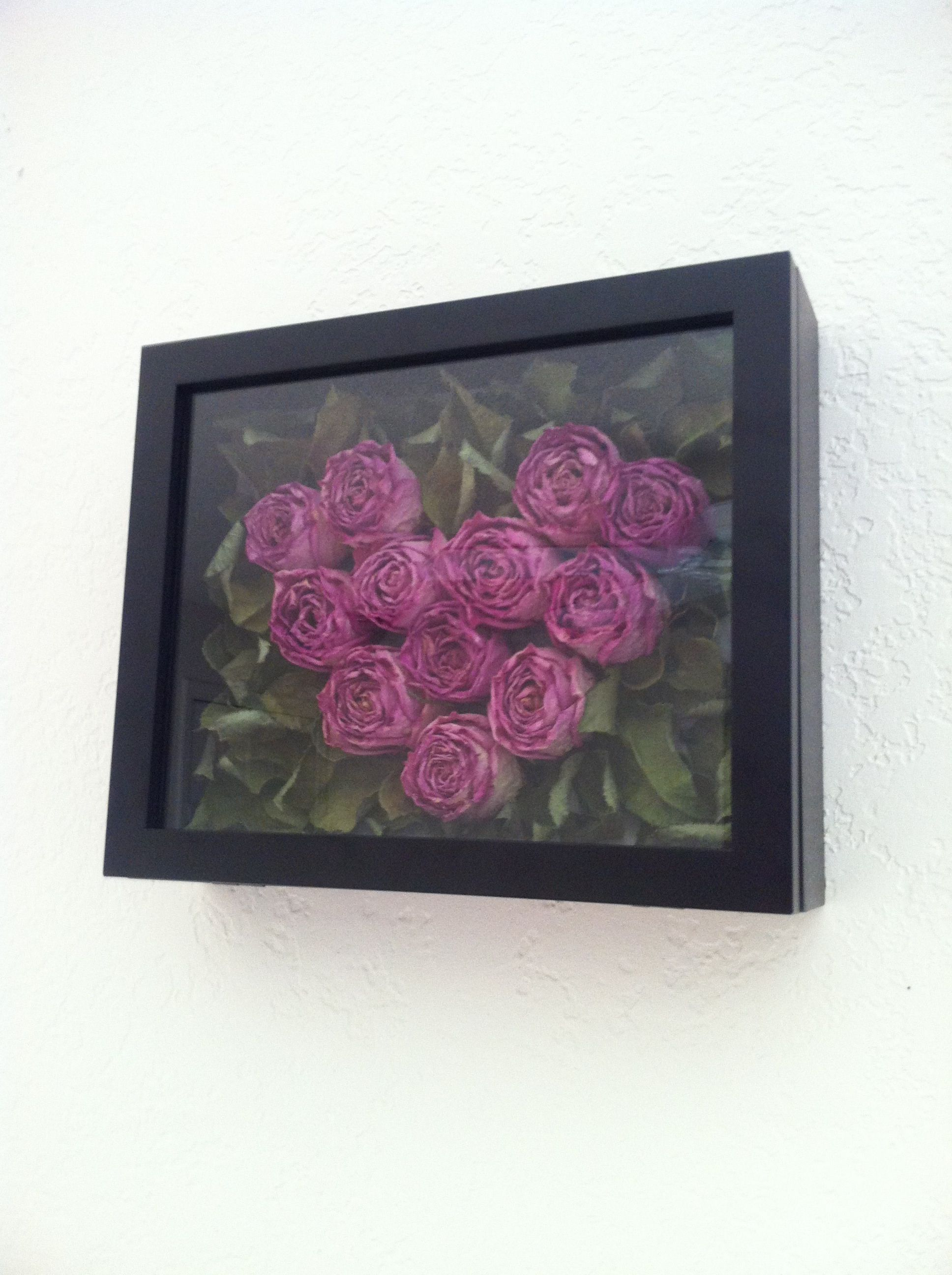 Alternative To Rose Garden: Great Alternative To Keep A Special Bouquet For Memories