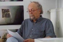 """IMGP9790. Cropp liest aus der Anthologie """"Spuk in Hamburg"""" seine Gruselstory """"Eine Kokosnuss""""."""