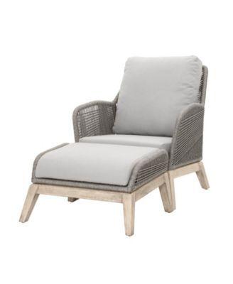 essentials for living loom outdoor footstool gray in 2019 rh pinterest com