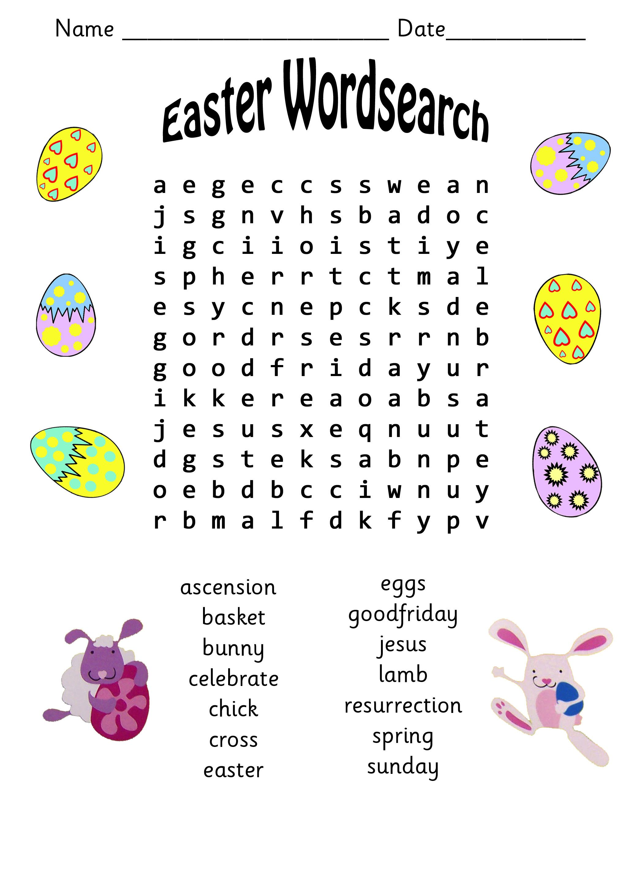 Easter Activity Variety Packet