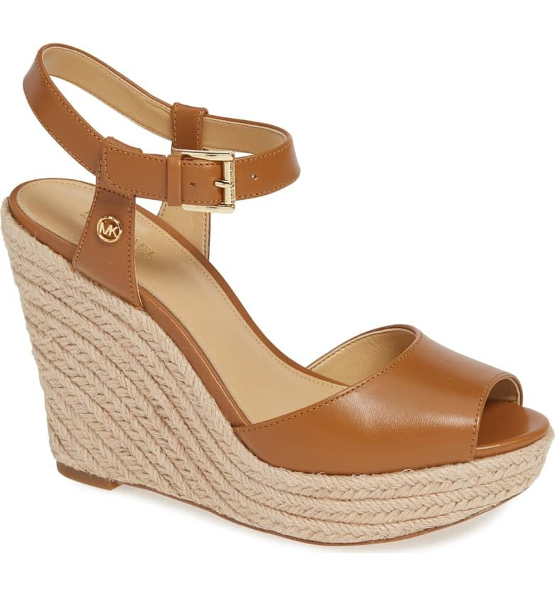 bbe4b2a8a2e MICHAEL Michael Kors Carlyn Espadrille Wedge Sandal (Women ...