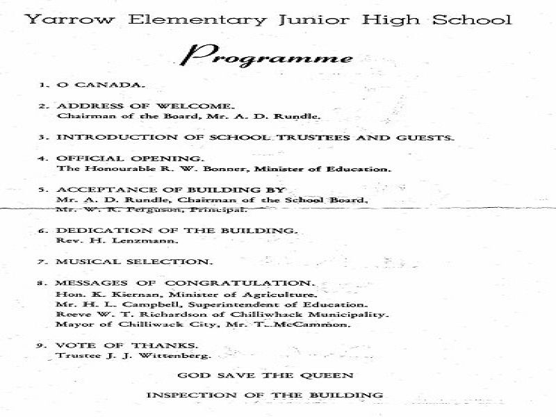 Elementary School Christmas Party Ideas Part - 20: Christmas Party Program Flow Yarrow Pioneers And Settlers; Yarrow Elementary  Junior High School Thanks For Reading (Latest Christmas Party Program Flow  ...