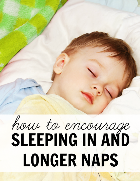 how to get baby to nap longer
