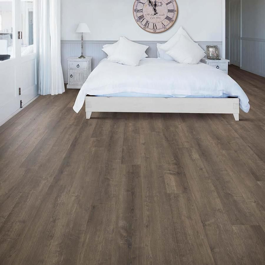 Allen Roth Meadow Oak 6 14 In W X 3 93 Ft L Embossed Wood Plank Laminate Flooring Lowes Com Laminate Flooring Wood Planks Oak Laminate