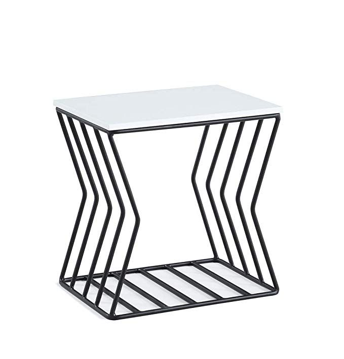 now house by jonathan adler convex grid accent table black and rh pinterest com