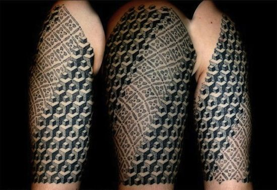 f441251b4 Polynesian and Esher inspired by Vincent Hocquet, St. Idesbald, Belgium   neo  tribal tattoos