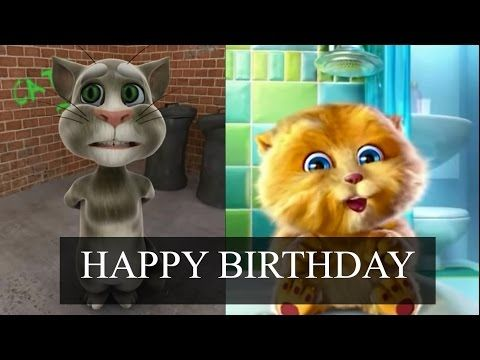 Funny Happy Birthday Song Cat And Dog Sing Happy Birthday To You Youtube Funny Happy Birthday Song Happy Birthday Wishes Song Happy Birthday Funny