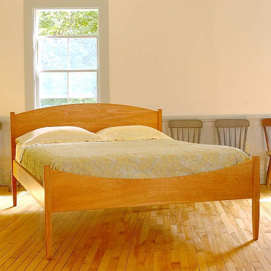 Our Environmentally Friendly Vermont Made Shaker Moon Bed Is Handcrafted In  Vermont By Skilled Artisans. Customize It To Make It Perfect For Your  Bedroom.