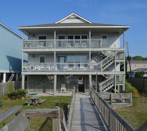 surfside beach rental beach home richard s retreat up myrtle rh pinterest com