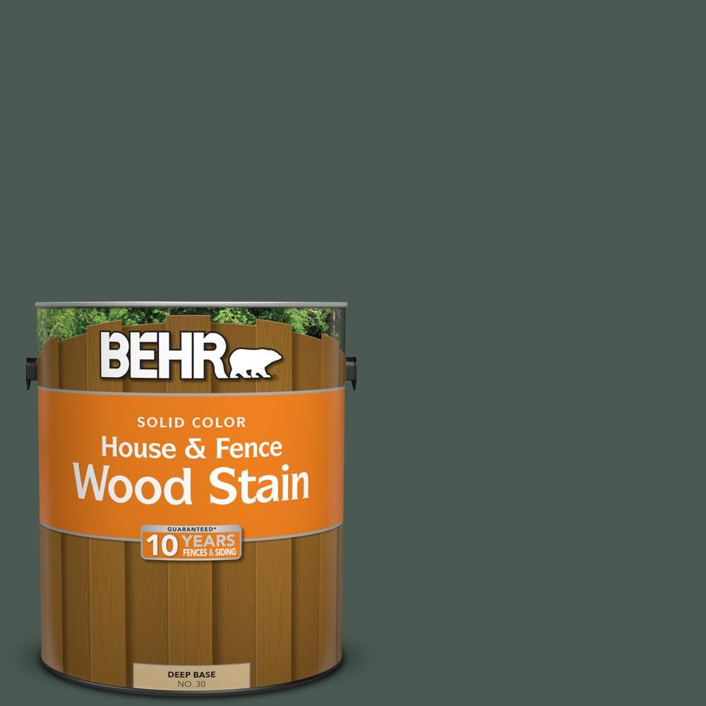 behr 1 gal s420 7 secluded woods solid house and fence wood stain rh pinterest com
