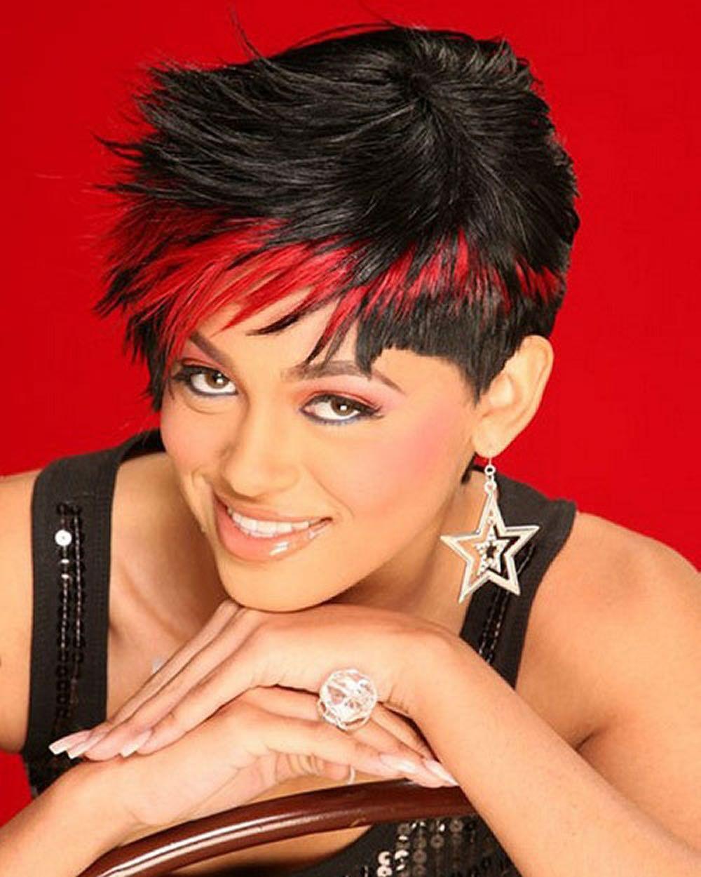 Fraulich - Frisuren für die Frau   Frisuren kurze haare